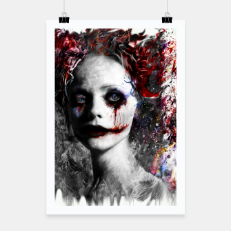 Thumbnail image of harley quinn Poster, Live Heroes