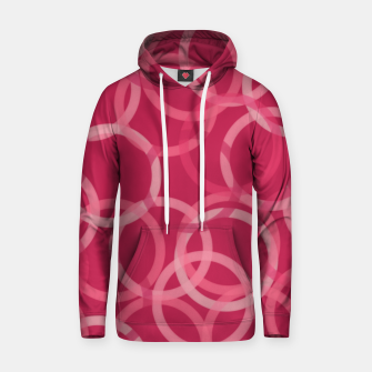Thumbnail image of Beautiful muted red and pink circles  Hoodie, Live Heroes