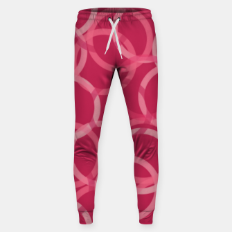 Thumbnail image of Beautiful muted red and pink circles  Sweatpants, Live Heroes