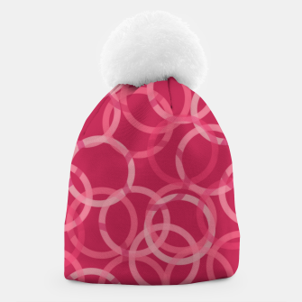 Thumbnail image of Beautiful muted red and pink circles  Beanie, Live Heroes