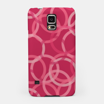 Thumbnail image of Beautiful muted red and pink circles  Samsung Case, Live Heroes
