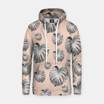 Thumbnail image of Tropical Monstera Dream #1 #tropical #pattern #decor #art Kapuzenpullover, Live Heroes