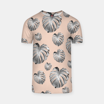 Thumbnail image of Tropical Monstera Dream #1 #tropical #pattern #decor #art T-Shirt, Live Heroes