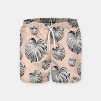 Thumbnail image of Tropical Monstera Dream #1 #tropical #pattern #decor #art Badeshorts, Live Heroes