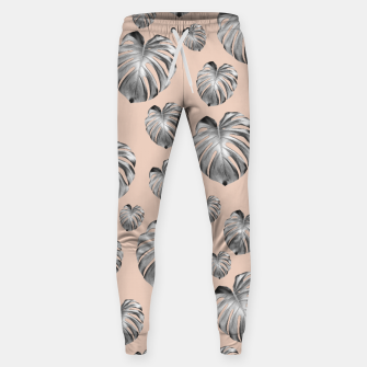 Thumbnail image of Tropical Monstera Dream #1 #tropical #pattern #decor #art Hosen, Live Heroes