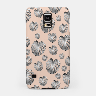 Thumbnail image of Tropical Monstera Dream #1 #tropical #pattern #decor #art Handyhülle für Samsung, Live Heroes