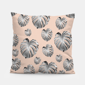 Thumbnail image of Tropical Monstera Dream #1 #tropical #pattern #decor #art Kissen, Live Heroes