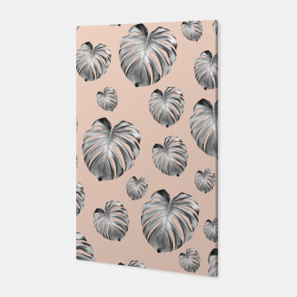 Thumbnail image of Tropical Monstera Dream #1 #tropical #pattern #decor #art Canvas, Live Heroes
