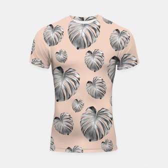 Thumbnail image of Tropical Monstera Dream #1 #tropical #pattern #decor #art Shortsleeve rashguard, Live Heroes