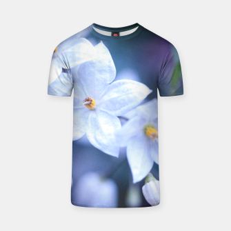 Thumbnail image of Jasmine Nightshade Flowers #3 #floral #art  T-Shirt, Live Heroes