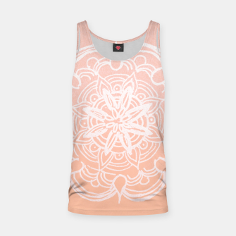 Peach Blush Romantic Flower Mandala #3 #drawing #decor #art Muskelshirt  thumbnail image