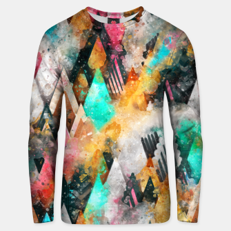 Abstract Triangles Unisex sweater thumbnail image
