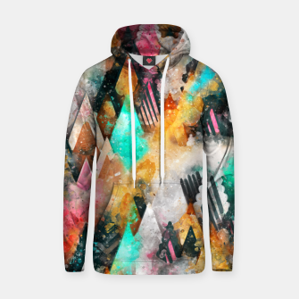 Thumbnail image of Abstract Triangles Hoodie, Live Heroes