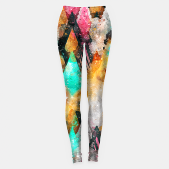 Miniatur Abstract Triangles Leggings, Live Heroes