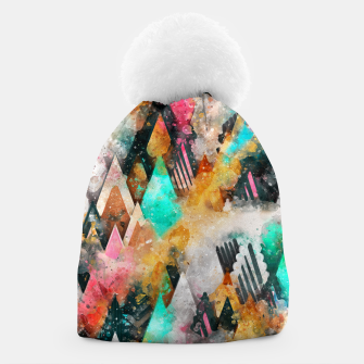 Thumbnail image of Abstract Triangles Beanie, Live Heroes