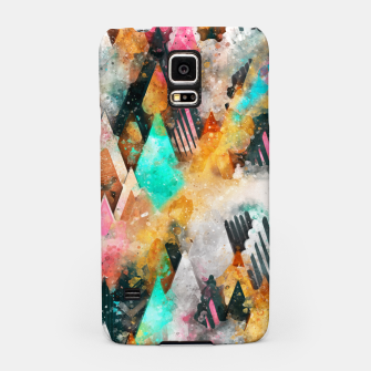 Abstract Triangles Samsung Case obraz miniatury