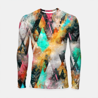 Abstract Triangles Longsleeve rashguard  obraz miniatury