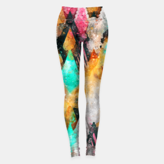Abstract Triangles Leggings obraz miniatury