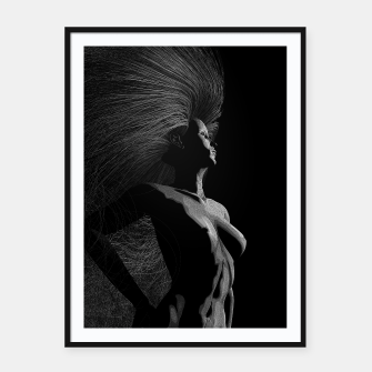 Thumbnail image of Circe by Moonlight Framed poster, Live Heroes
