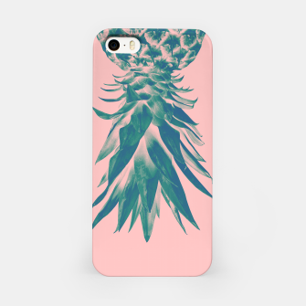 Thumbnail image of Blush Pineapple Upside Down #1 #tropical #fruit #decor #art iPhone-Hülle, Live Heroes