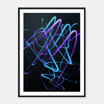 Thumbnail image of Cool Commotion - Handstyles and Modern Graffiti Art  Framed poster, Live Heroes