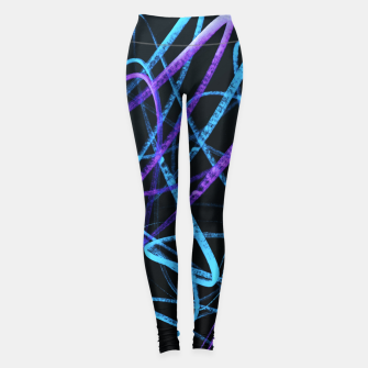 Thumbnail image of Cool Commotion - Handstyles and Modern Graffiti Art  Leggings, Live Heroes