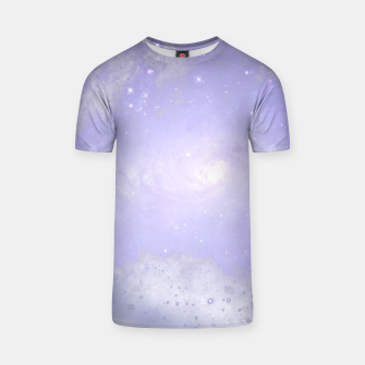 Thumbnail image of Purple Galaxy Texture T-Shirt, Live Heroes