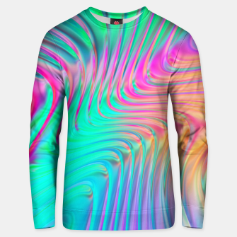 Thumbnail image of Abstract Colorful Waves  Unisex sweater, Live Heroes