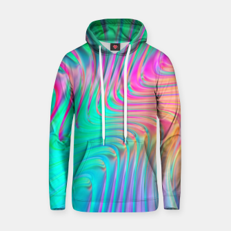 Thumbnail image of Abstract Colorful Waves  Hoodie, Live Heroes