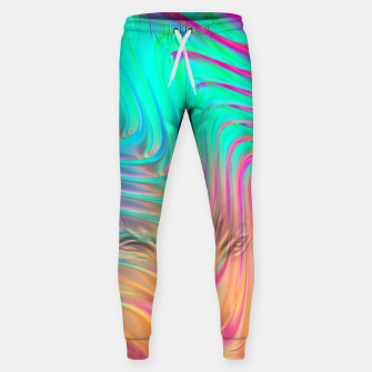 Thumbnail image of Abstract Colorful Waves  Sweatpants, Live Heroes