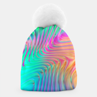 Thumbnail image of Abstract Colorful Waves  Beanie, Live Heroes