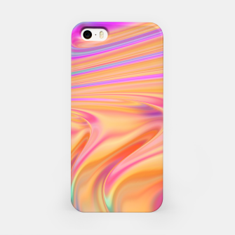 Thumbnail image of Abstract Colorful Waves  iPhone Case, Live Heroes