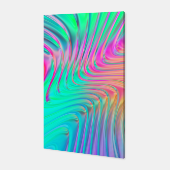 Thumbnail image of Abstract Colorful Waves  Canvas, Live Heroes