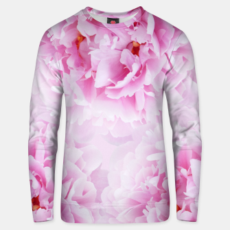 Thumbnail image of Pink Peonies Dream #1 #floral #decor #art Unisex sweatshirt, Live Heroes