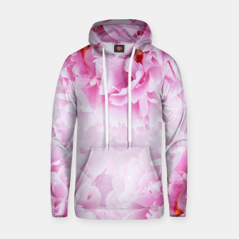 Thumbnail image of Pink Peonies Dream #1 #floral #decor #art Kapuzenpullover, Live Heroes