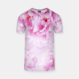 Thumbnail image of Pink Peonies Dream #1 #floral #decor #art T-Shirt, Live Heroes