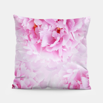 Thumbnail image of Pink Peonies Dream #1 #floral #decor #art Kissen, Live Heroes