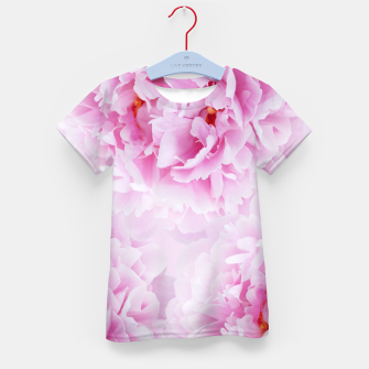 Thumbnail image of Pink Peonies Dream #1 #floral #decor #art T-Shirt für kinder, Live Heroes