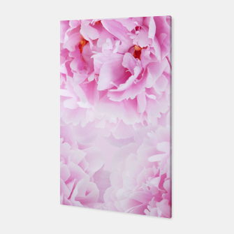 Thumbnail image of Pink Peonies Dream #1 #floral #decor #art Canvas, Live Heroes