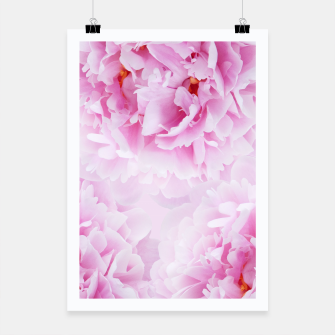 Thumbnail image of Pink Peonies Dream #1 #floral #decor #art Plakat, Live Heroes