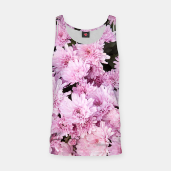 Thumbnail image of A Sea of Light Pink Chrysanthemums #1 #floral #art Muskelshirt , Live Heroes