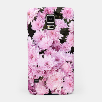 Thumbnail image of A Sea of Light Pink Chrysanthemums #1 #floral #art Handyhülle für Samsung, Live Heroes