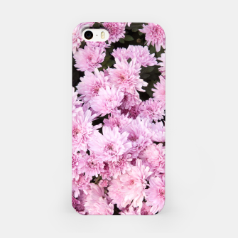 Thumbnail image of A Sea of Light Pink Chrysanthemums #1 #floral #art iPhone-Hülle, Live Heroes