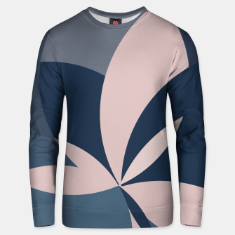 Thumbnail image of Rose Blue Butterfly Bloom Unisex sweater, Live Heroes