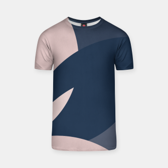 Thumbnail image of Rose Blue Butterfly Bloom T-shirt, Live Heroes