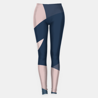 Thumbnail image of Rose Blue Butterfly Bloom Leggings, Live Heroes