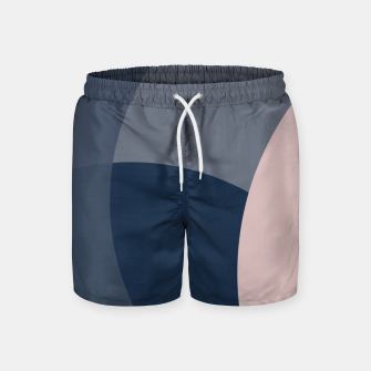 Thumbnail image of Rose Blue Butterfly Bloom Swim Shorts, Live Heroes