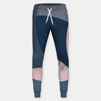 Thumbnail image of Rose Blue Butterfly Bloom Sweatpants, Live Heroes