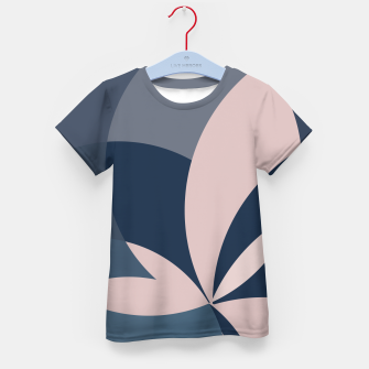 Thumbnail image of Rose Blue Butterfly Bloom Kid's t-shirt, Live Heroes