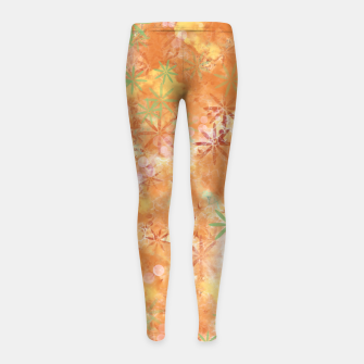 Thumbnail image of Just because Girl's leggings, Live Heroes